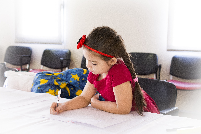 Mit mond el a családról gyermekünk rajza?